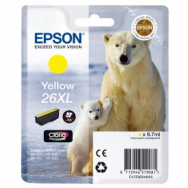 Atrament Epson T2634, 26XL Claria, yellow XP-600/700 - EP021990