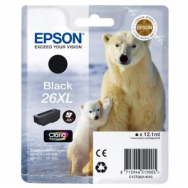 Atrament Epson C13T26214010 black T2621, 26XL - EP021991