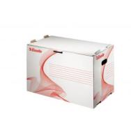 6dfcb65c8 Archívna škatuľa na zakladače Esselte biela/čer.