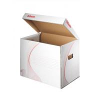 41e8f7d58 Archívna škatuľa univerzálna Esselte biela/červ.
