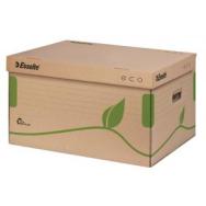 56811d507 Archívna škatuľa s vekom Esselte ECO hnedá