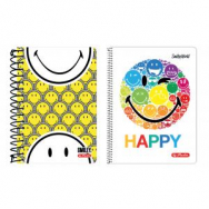 Blok College Herlitz 10x14, 200 listov Smiley World s parciá - HL001750