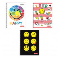 Blok College Herlitz A4 70 listov Smiley World s parciálnym  - HL001774