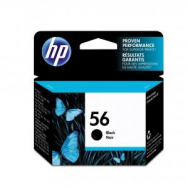 Atrament HP C6656AE, 19ml čierny - HP665619