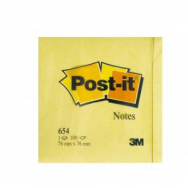 Bloček Post-it 76x76 žltý - MM065410
