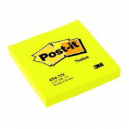 Bloček Post-it 76x76 neón žltý - MM065442