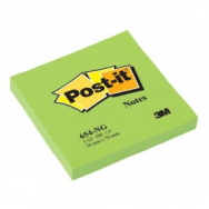 Bloček Post-it 76x76 neón zelený - MM065444
