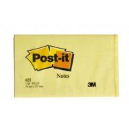 Bloček Post-it 76x127 žltý - MM065510