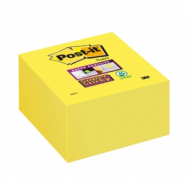 Bloček kocka Post-it Super Sticky 76x76mm žltá 270l - MM202870
