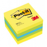 Bloček kocka Post-it 51x51 mini mix farieb - MM205120
