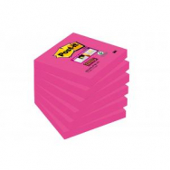 Bločky Post-it Super Sticky - Fuchsia 76x76mm - MM654060
