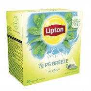 Čaj Lipton bylinný Infusion Herbal Alps Breeze pyramídy 22g - PT604434