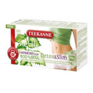Čaj TEEKANNE Harmony for body & soul  Detox & Slim 32g - PT604680