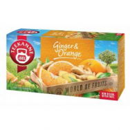 Čaj TEEKANNE ovocný Orange Ginger 45g - PT606130