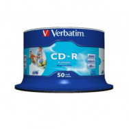 Verbatim CD-R printable cake 50 ks - VE434380