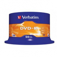 Verbatim DVD-R 16x 4,7GB cake 50 ks - VE435480