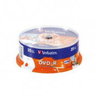 Verbatim DVD-R printable cake25 - VE710572